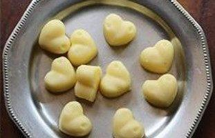 шоколад сердечками