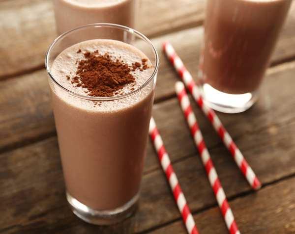 Как сделать шоколадный коктейль в домашних условиях?