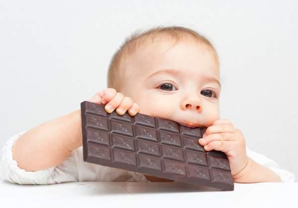 аллергия на шоколад у детей
