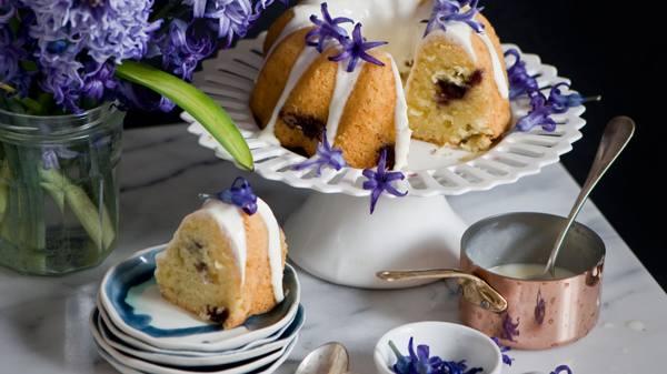 лимонная глазурь для кекса
