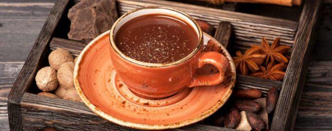 горячий шоколад калорийность