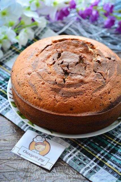 пирог знбра на сметане от шоколада