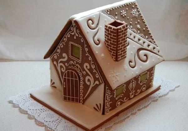 Пряничный домик с королевской глазурью