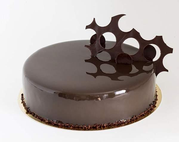 Глазурь желатиновая с какао