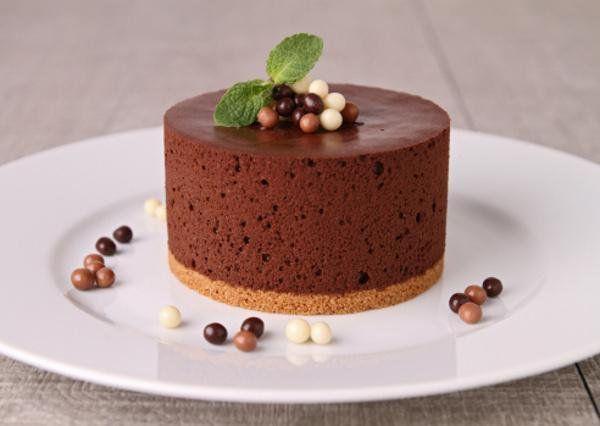 Шоколадно-муссовые пирожные
