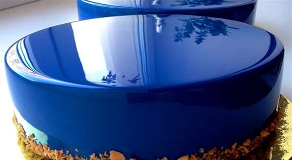 Зеркальная глазурь