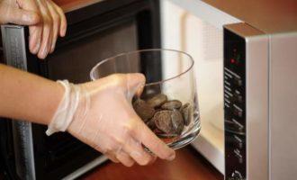 Рецепт шоколадного фондана в микроволновке
