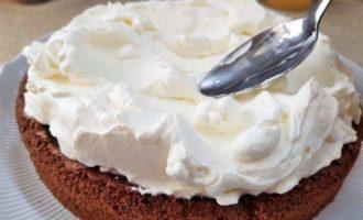 Пошаговый рецепт шоколадного торта с вишней