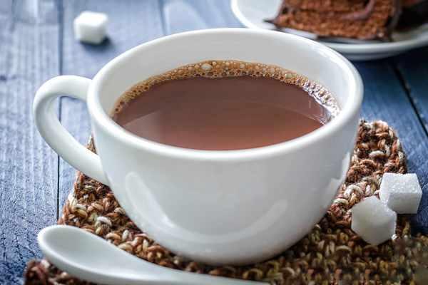 какао на ночь