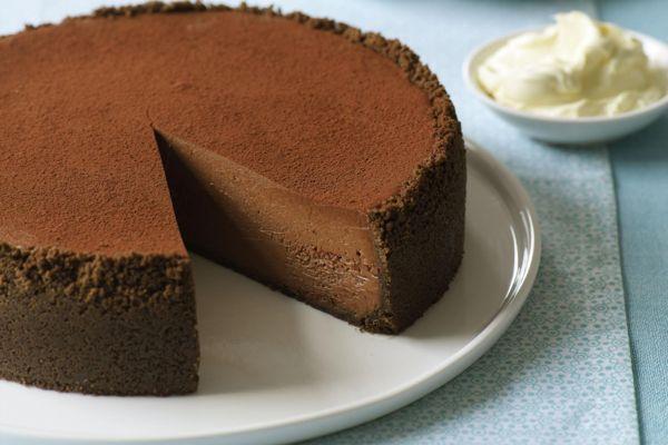 Как приготовить классический шоколадный чизкейк в домашних условиях
