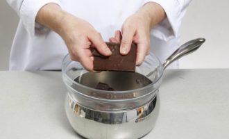 Рецепт шоколадного крема чиз