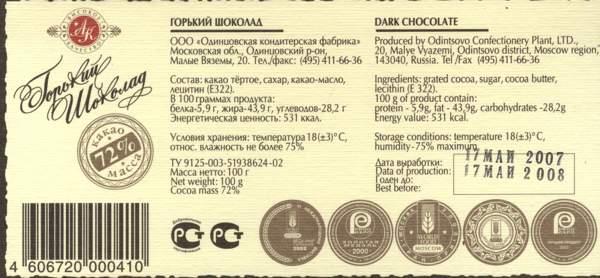 как проверить шоколад