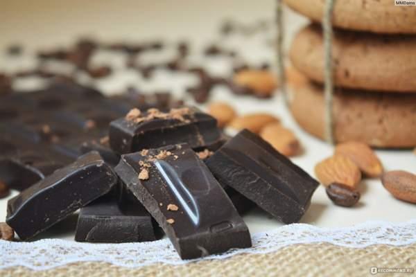 Полезные свойства горького шоколада без сахара 72 «Победа вкуса»
