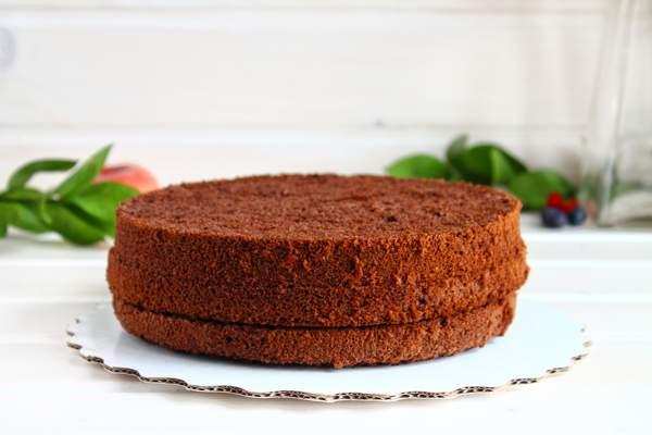 Постный шоколадный пирог в мультиварке