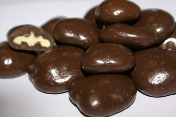 Орехи с шоколадом и сгущенкой