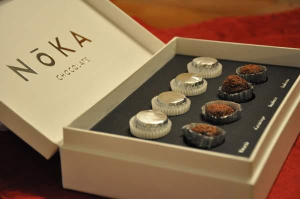 Конфеты от Noka Chocolate