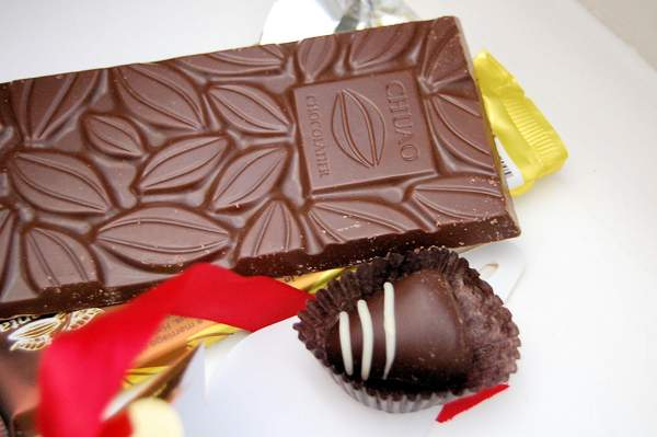 Конфеты от Chuao Chocolatier