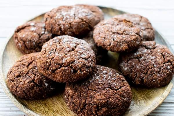 Шоколадное печенье без яиц