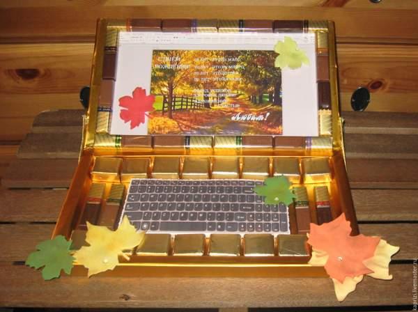 Сладкий ноутбук