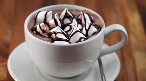 Какао с зефиром в духовке