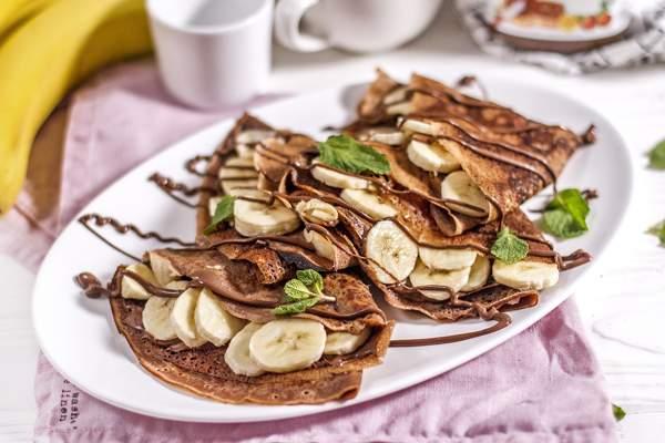 Шоколадно-банановый топпинг