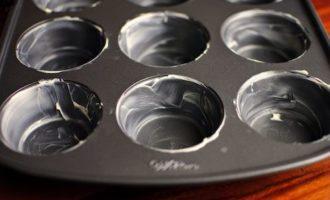 формочка для кексов в масле