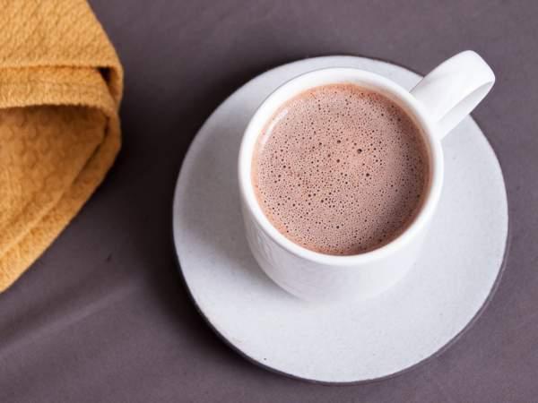 Какао из порошка на воде