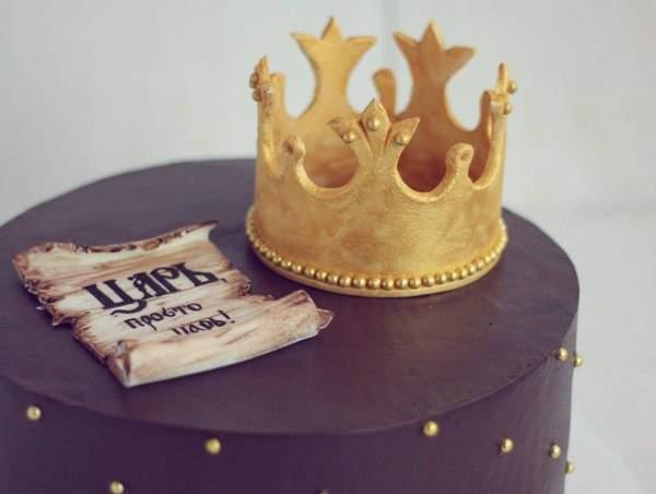 Корона для торта