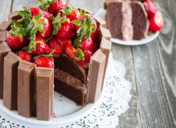 Летний торт Кит Кат