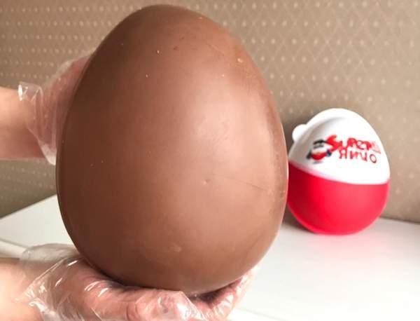 Приготовление яйца с помощью шарика