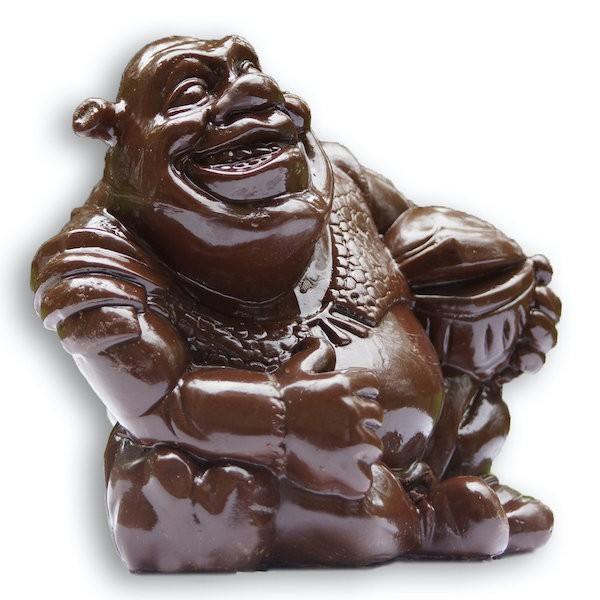 шрек из шоколада