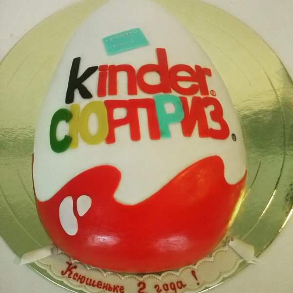 Торт киндер