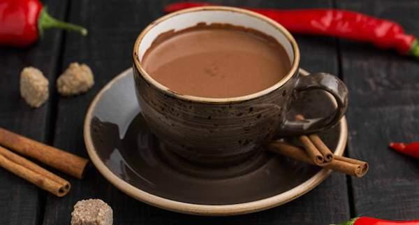 Острый горячий шоколад