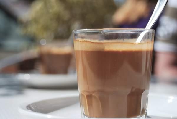 Какао с кукурузной мукой