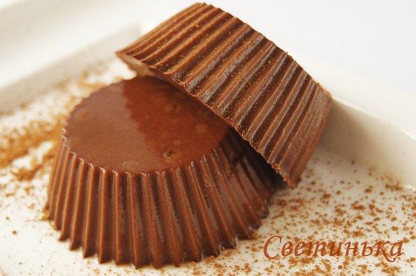 вкусное шоколадное желе