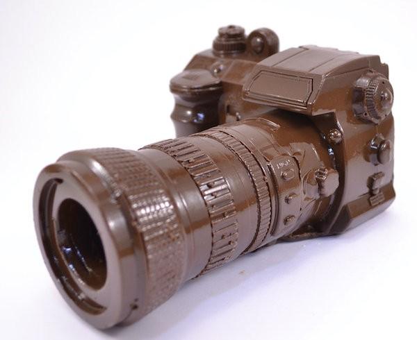 Сладкая копия фотоаппарата