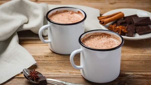 Горячий шоколад с молоком