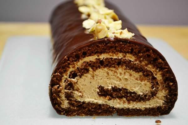 Пирожные со сгущенкой и какао
