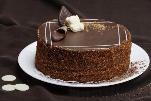 Торт «Мишка на севере» классический рецепт