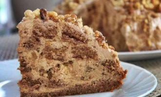 Пошаговый рецепт торта из Несквика
