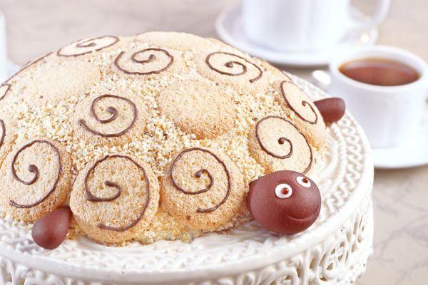 Торт «Черепаха» со сгущенкой