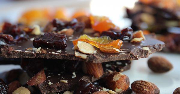 Шоколадно-ореховые цукаты