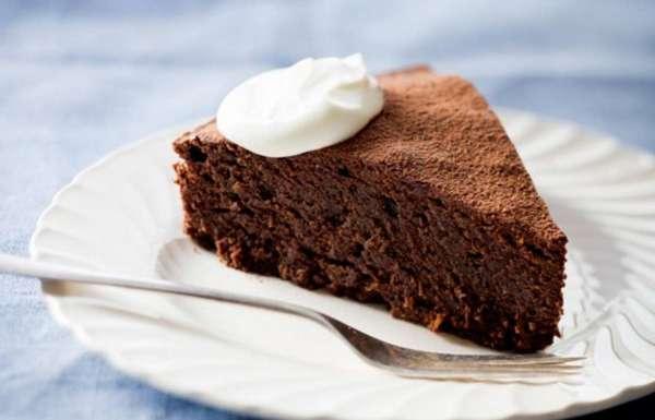 Рецепт творожной запеканки с какао в духовке