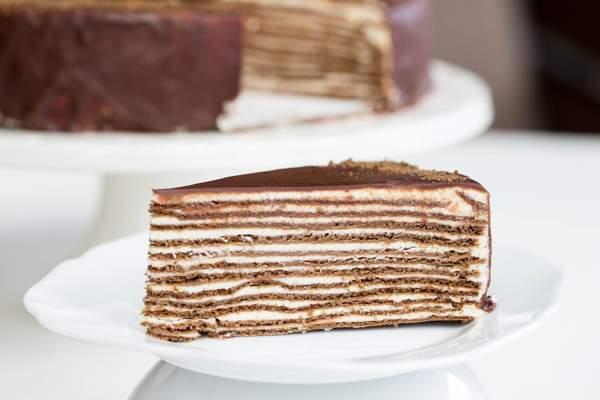 Торт спартак без выпечки