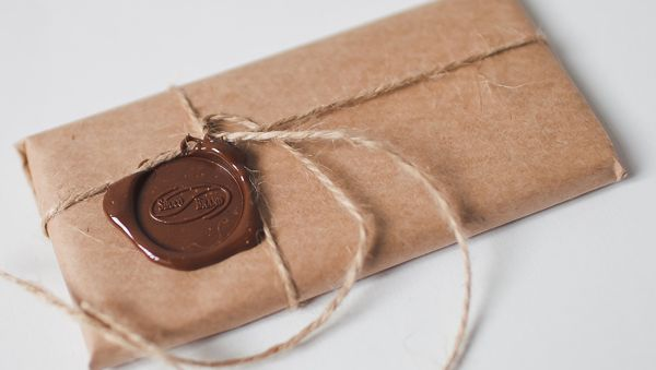 Как упаковать шоколадку на 23 февраля