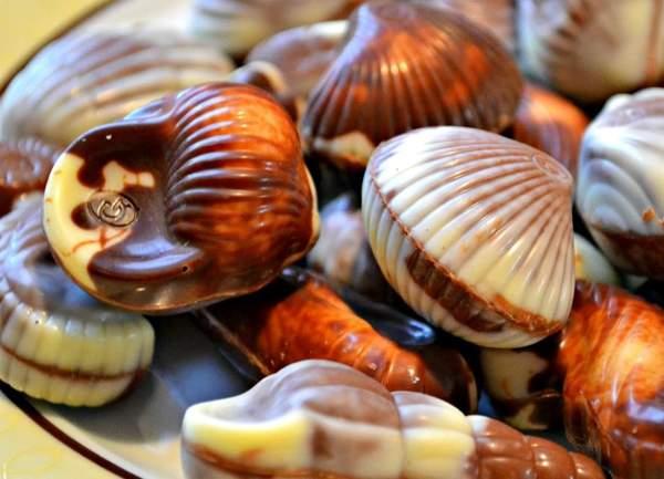 Бельгийские конфеты ракушки